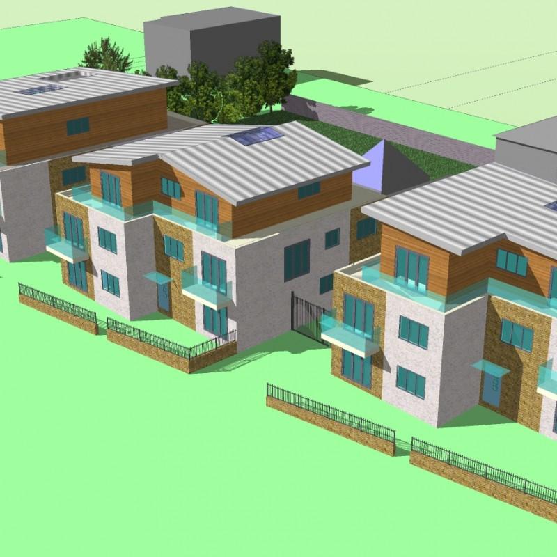 Lime Kiln - New Build Development 3D Plans