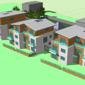 Lime Kiln - New Build Development 3D Plans